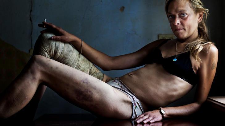 запущенная женская наркомания